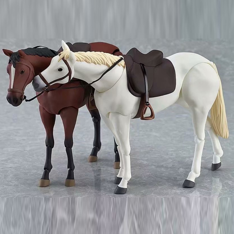 Animal Cartoon <font><b>Horse</b></font> Action <font><b>Figure</b></font> <font><b>Model</b></font> <font><b>Toy</b></font> Collection Kids Action <font><b>figure</b></font> <font><b>toys</b></font> YH-17 image