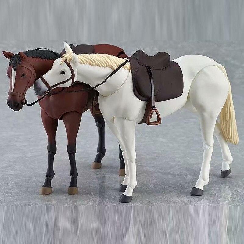 Animal Cavalo Dos Desenhos Animados Action Figure Modelo Coleção Toy Kids brinquedos Action figure YH-17