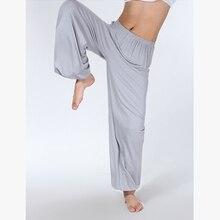 Мужские штаны для сна, вискоза, домашние свободные сексуальные штаны для отдыха, модал, модный ремешок, сексуальные мужские женские пижамы, тайчи, женские штаны L-3XL