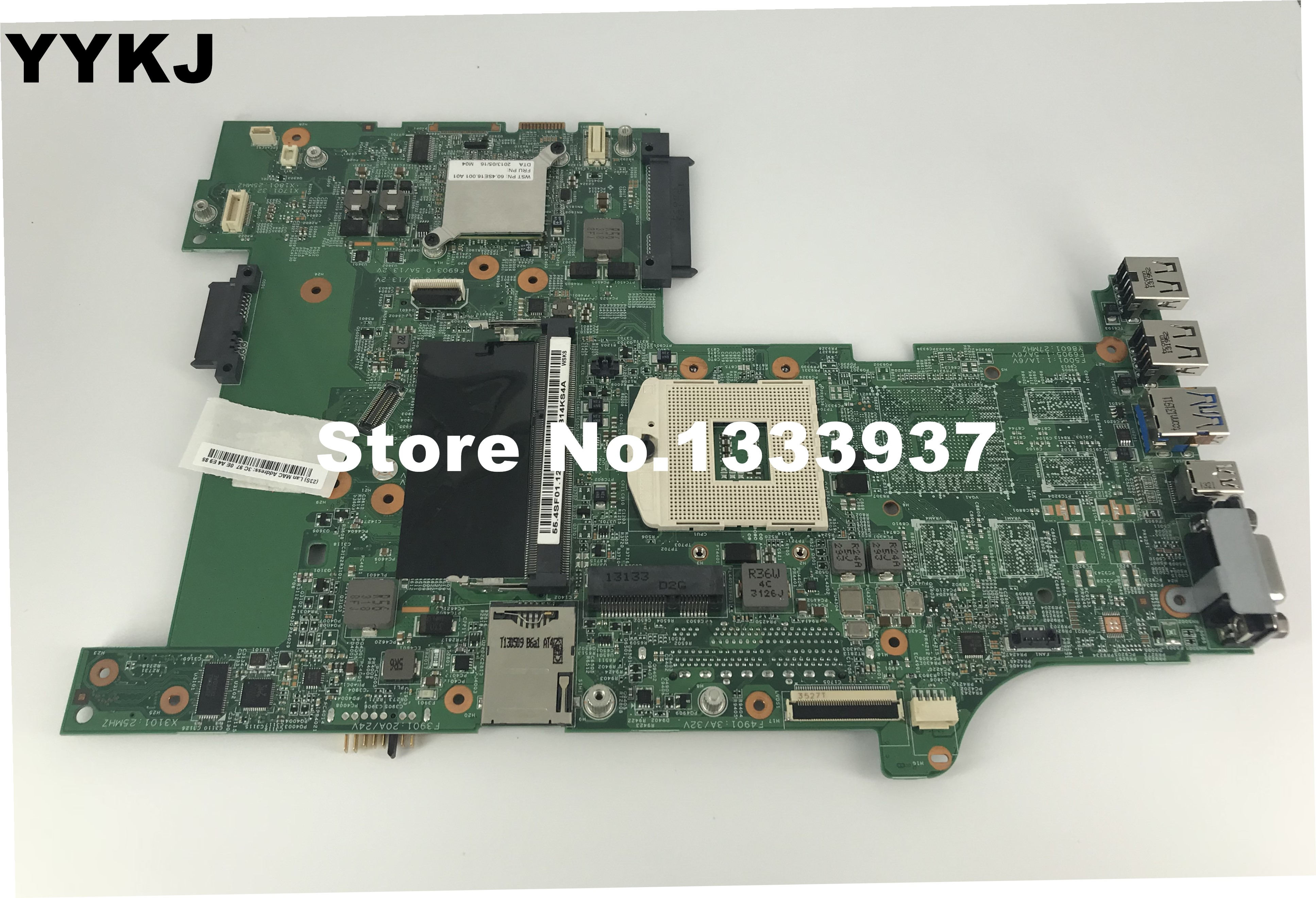 04Y2026  For lenovo L530 Laptop Motherboard 554SF01121 11S0C55186 Mainboard 100% mainboard|Motherboards| |  - title=