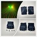 Сценические костюмы LED перчатки рождественские украшения легкие перчатки лазерная человек перчатки Событие и Праздничные Атрибуты для партии dj украшения