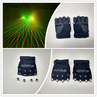 Stage costumes LED glove christmas decoration lighter glove laser man glove Event & Party Supplies for party dj decoration