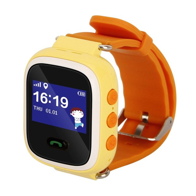 Q60 GPRS Smart Watch Phone Positioning Fashion Children Watch 1 inch Color Touch