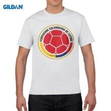 b1a117c43 GILDAN designer t shirt Colombia national team new plus size Mens summer  casual t shirt fashion