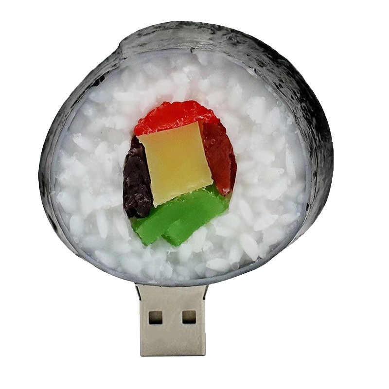 Truskawka ananas pendrive Pizza hamburger USB flash napęd 4GB 8GB 16GB 32GB 64GB pamięć USB pamięci awokado arbuz dysku U