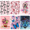 For Apple IPad 2 3 4 Case Wolf Panda Pattern PU Leather Flip Stand Case For
