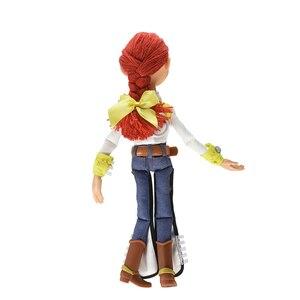 Image 5 - Экшн фигурки Disney Pixar История игрушек 3 4 говорящая Вуди Джесси модель тканевого тела кукла Ограниченная Коллекция игрушки подарки для детей