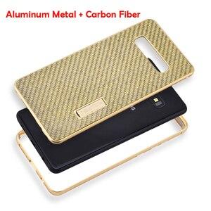 Image 3 - IMatch Алюминиевый металлический чехол из настоящего углеродного волокна для Samsung Galaxy S10/ Plus, роскошный чехол с полной защитой для Samsung S10, чехол