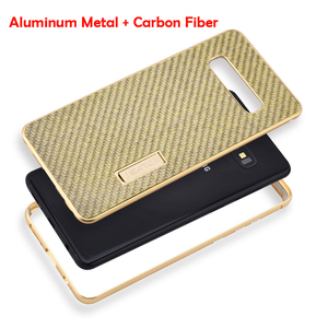 Image 3 - iMatch Real Carbon Fiber Aluminum Metal Case For Samsung Galaxy S10/ Plus Luxury Full Protection Back Cover For Samsung S10 Case