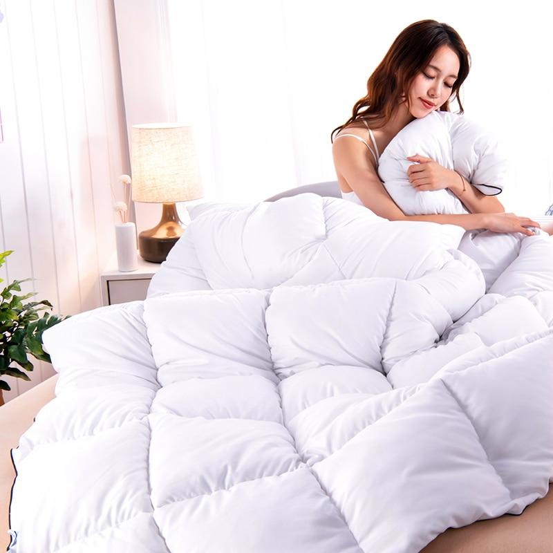 Winter Duvet Comforter  Insert Microfiber Down Alternative Comforters Core Hypoallergenic  Warm Quiltd Fluffy NarwalDate