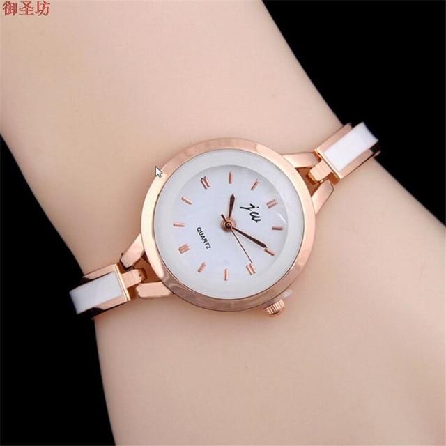 Extrêmement Women Bracelet Watch Gel Ladies Watch Quartz Watch Bayan Saat  QF37