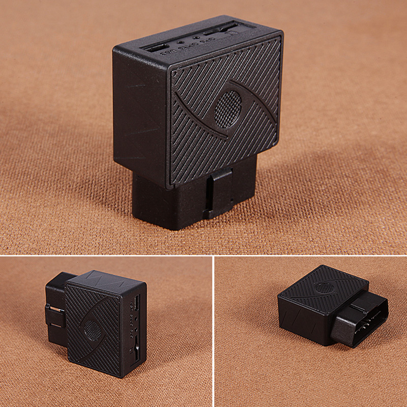 plug play mini car gps tracker obdii vehicle car gps locator 16 pin interface tracking system