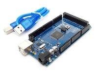 Mega 2560 R3 Mega2560 REV3 ATmega2560 16AU Board USB Cable Compatible For Arduino Good Quality Low