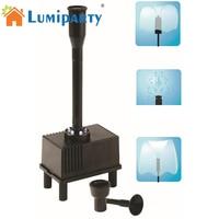 LumiParty Acuario Bomba Sumergible Bomba de Agua Fuente de Luz LED Al Aire Libre Estanque Pecera Hidropónico Fuentes De Agua Automático