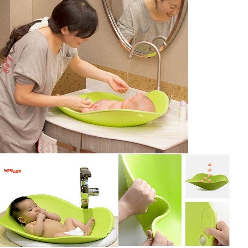 2017 Nouvelle Floraison coussins garnis bébé douche baignoire bébé halo projet doublure souple 0-3 ans Bébé siège de bain Sécurité Siège