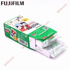 Image 5 - 20   100 sheets Fujifilm Instax Mini White Film Instant Photo Paper For Instax Mini 11 8 mini 9 7s 9 70 25 50s 90  Camera SP 1 2