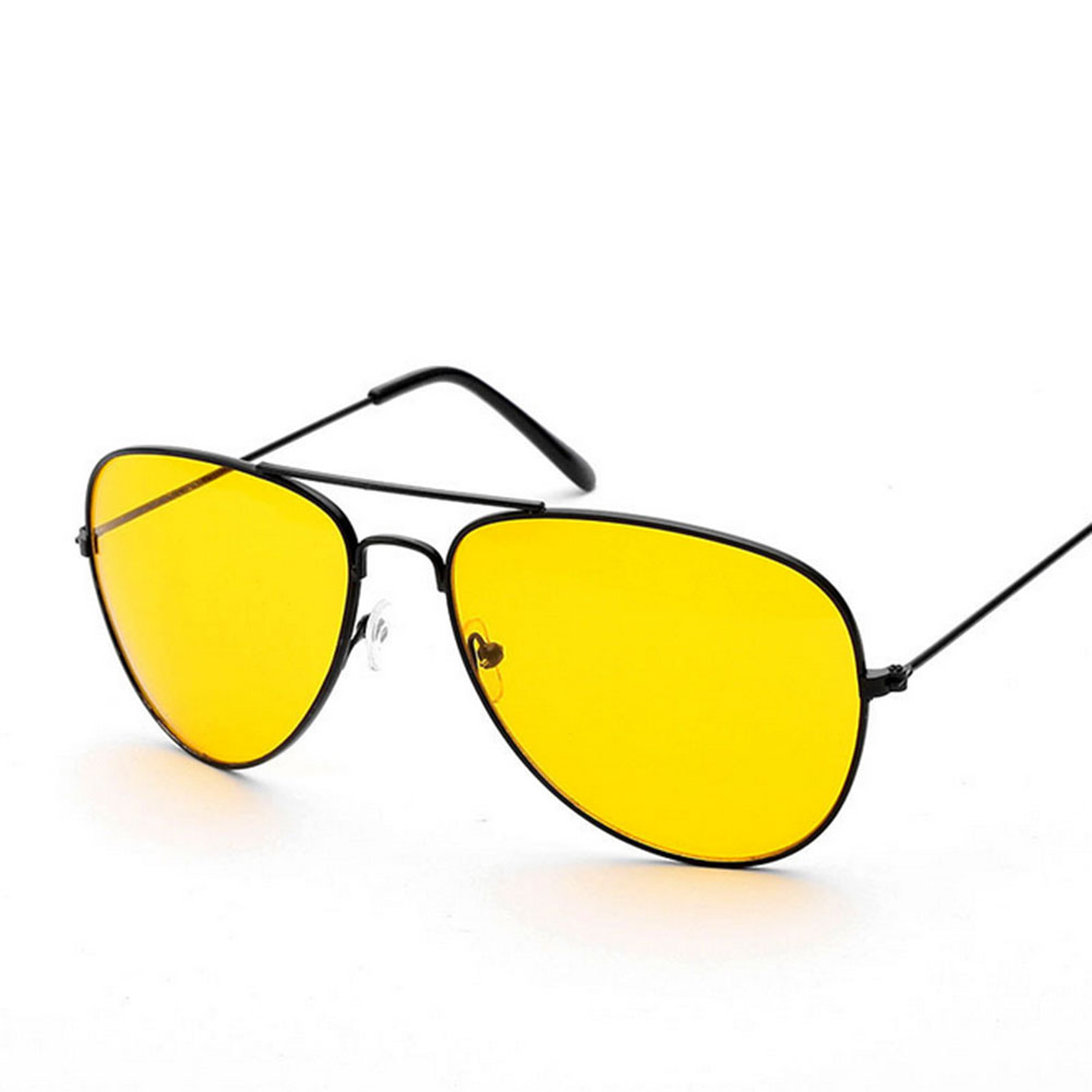 Mens Yellow Frame Sunglasses : Feidu brand new alloy polarized sunglasses men sport ...
