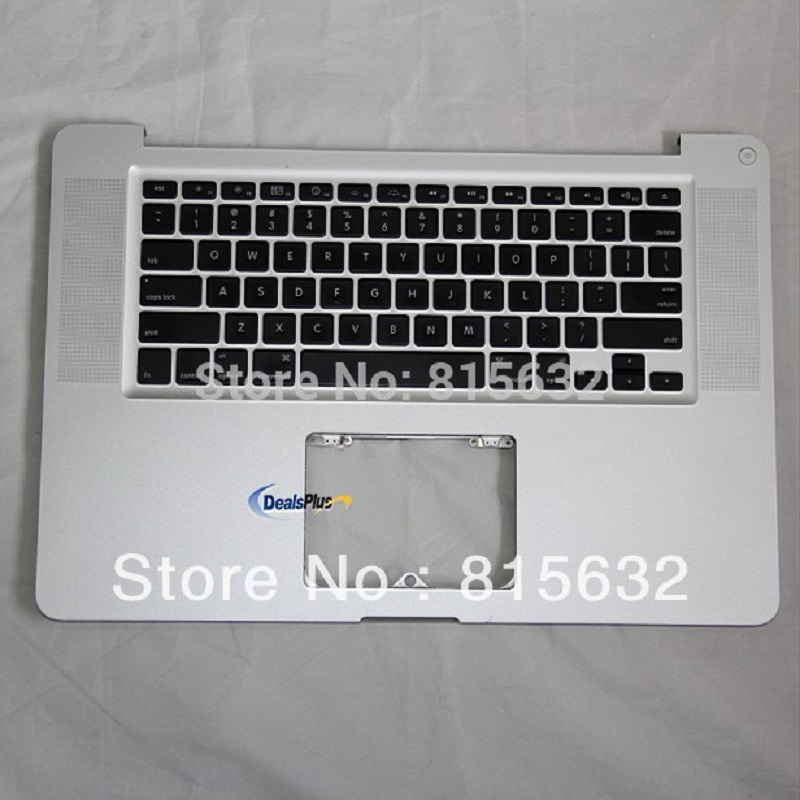 PĀRBAUDE MacBook Pro A1286 paliktņa augšējai lietai Backlihgt US Keyboard & NO TRACKPAD 2009, VAIRUMTIRDZNIECĪBA