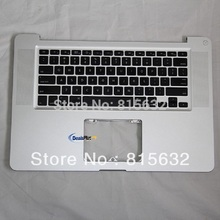 TESTED FOR Macbook pro A1286 Palmrest Top Case Backlihgt US Keyboard & NO TRACKPAD 2009, WHOLESALE
