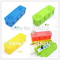 Baby Safety Plug Seat Socket Storage Box Wire Junction Box Power Cord Storage Cable Winder