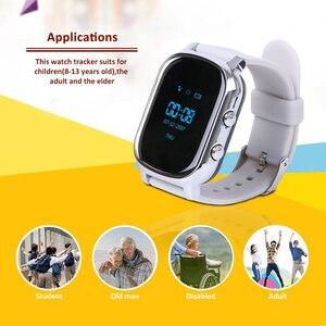 Image 4 - Akıllı saat çocuklar yaşlı için T58 Smartwatch SIM GPS akıllı takip cihazı uzaktan bulucu cihazı için bebek yaşlı akıllı saat IOS Android için