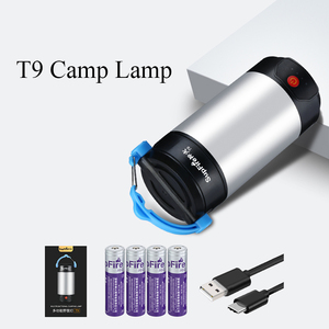 Image 5 - Supfire T9 קמפינג אור LED פנס 1000lm Linterna LED אוהל פלאש אור 8000mAh כוח בנק USB מחנה מנורת לתלות אור Zaklamp