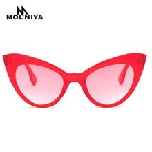 New Brand Cat Eye Sunglasses Women Double Cateye Sun Glasses Ladies Sexy Vintage Eyewear UV400 Shades