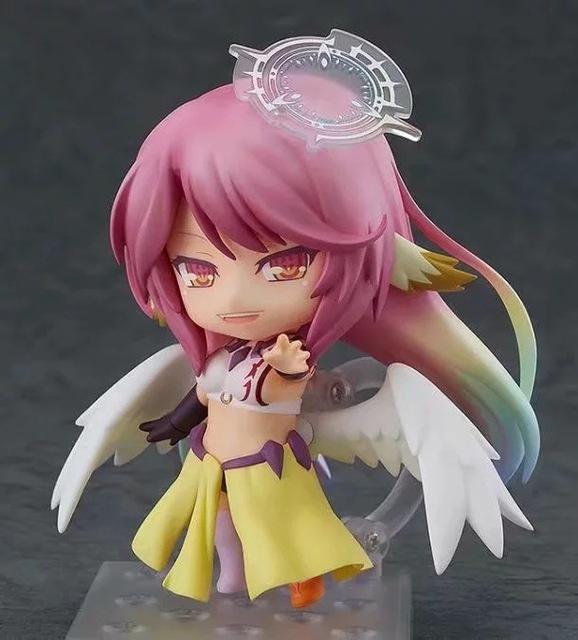 No Game No Life Shiro Nendoroid PVC Action Figure Shiro Jibril 794# Anime Figurine Game Of Life Model Toys