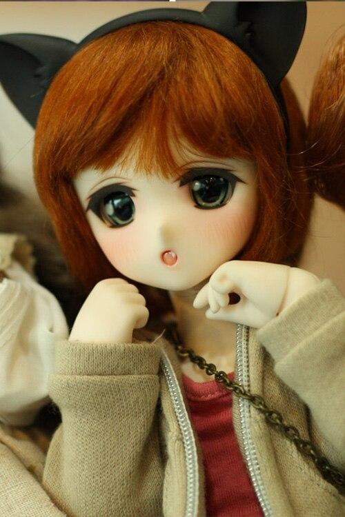 HeHeBJD 1 6 Chibi Moe hot bjd toys at a low price dolls free eyes free