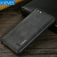 X Level Phone Case For Huawei Honor 4c Back Cover Ultra Slim Soft Luxury PU Leather