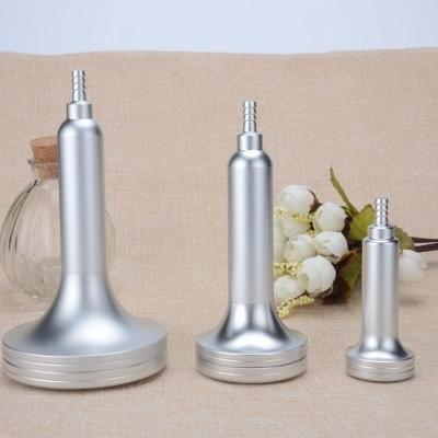 O envio gratuito de 3 pcs cabeças de vácuo copos Matagal de Metal peças de reposição para Máquina de emagrecimento de Vácuo
