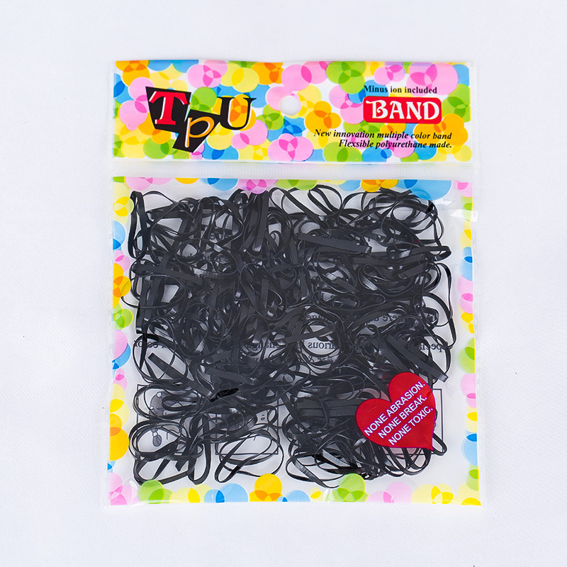 Two Types TPU Braids Plaits Ponytail Holder Silicone Elastic Hair Bands Rubber Bands Ties for Women Headwear Hair Accessories