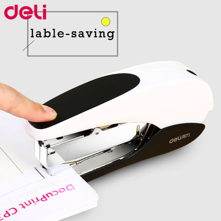 Deli Stapler Office And School Stationary Binding Supplies User Friendly Labor-saving Fashionable Center Joint Stapler 0371