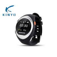 KINYO colorful family watch waterproof sports wrist watches elderly/kids falling alarm function outdoor activity smart watches
