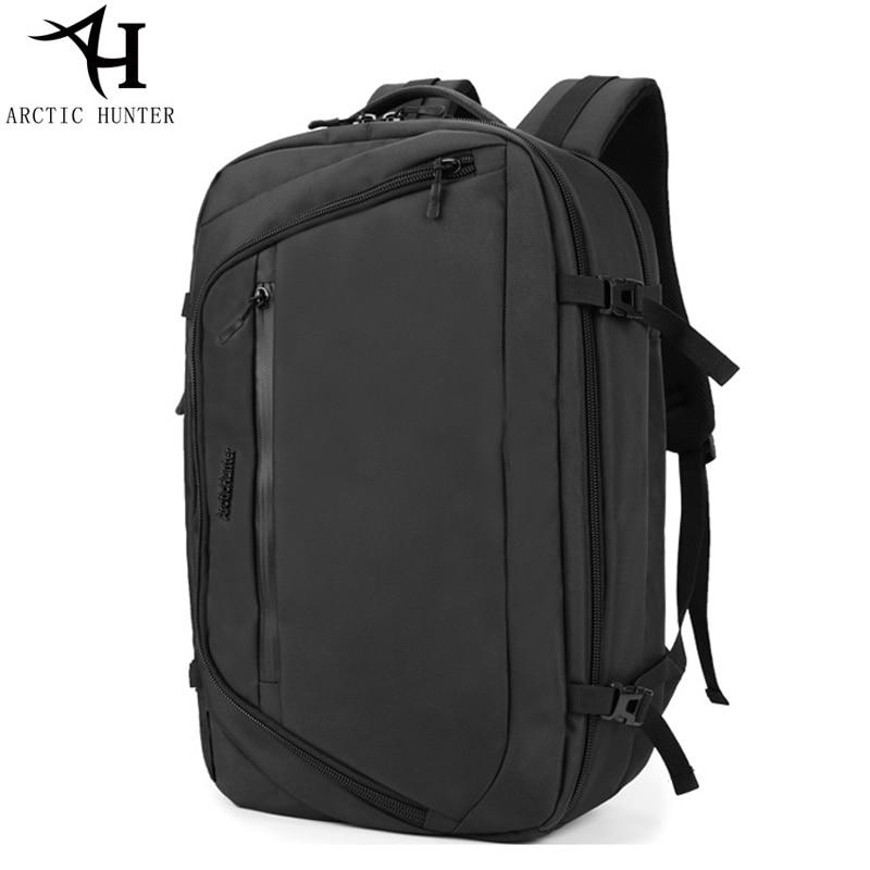 все цены на Arctic Hunter Men's backpack large capacity business backpacks double Shoulder school bag Notebook 15.6 inch computer Bakcpacks онлайн
