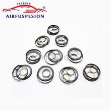 10Set For Mercedes W164 W251 W166 W221 Piston Ring repair kit Air Compressor Pump Cylinder 1643201204 1663200104 2213201304 w164 w221 airmatic suspension compressor piston with ring for mercedes gl class ml63 amg pneumatic rubber spring buffer pump kit