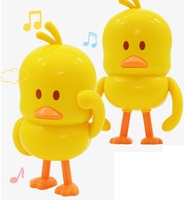 Cool MINI dancing ducks model toys with Sound Electronic Pets toys for kids gift