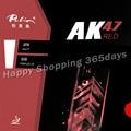 Настольный теннис Палио AK47 AK-47 AK 47 красный матовый пунктов в настольный теннис пинг-понг резиновая 2,2 мм H45-47