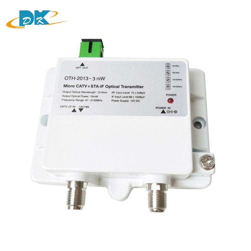 FTTH OTH-2013-3mW CATV+STA-IF Micro Optical Transmitter 47-2150MHz 1310nm single mode 12V DC Micro Optical Transmitter ,NOT CATVFTTH OTH-2013-3mW CATV+STA-IF Micro Optical Transmitter 47-2150MHz 1310nm single mode 12V DC Micro Optical Transmitter ,NOT CATV