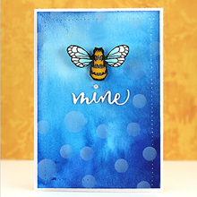 Be Mine DIY Craft Cutting Die Silver Letter Scrapbooking Photo Album Card Making Embossing Template Stencil Decoration
