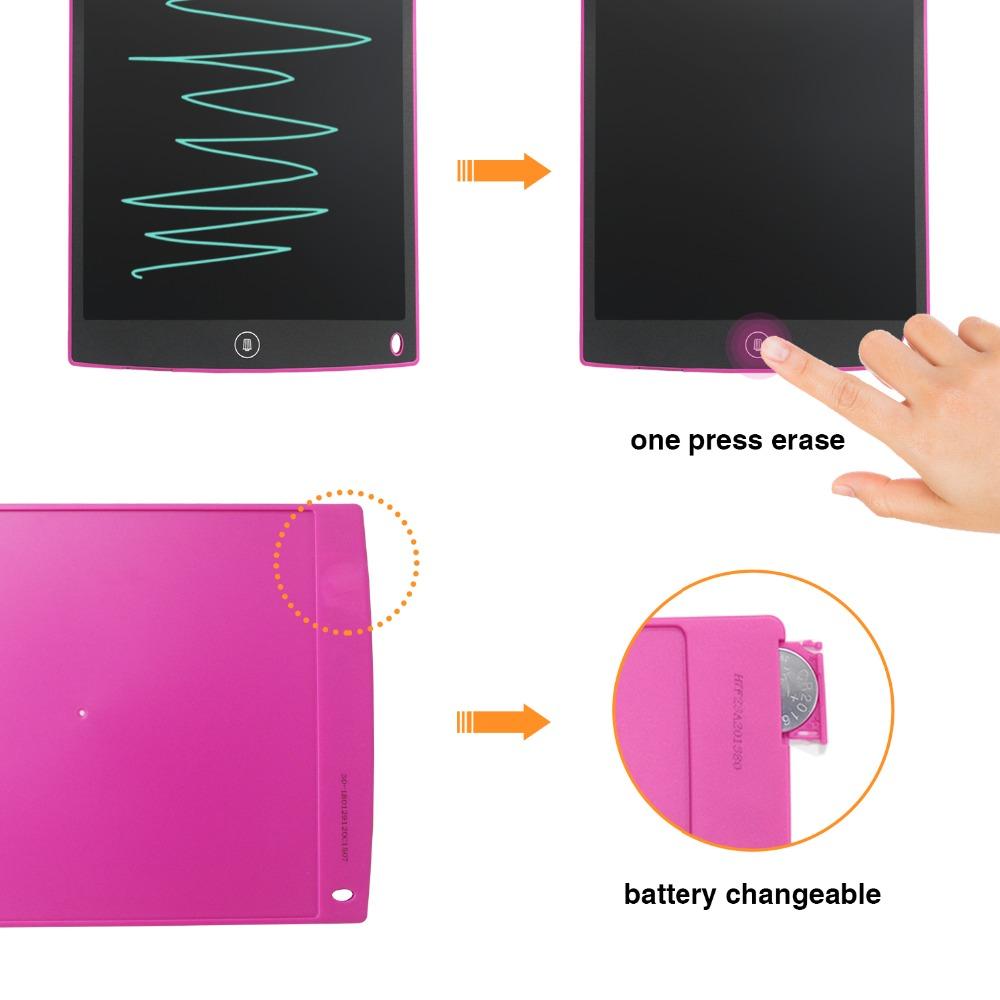 Tableta de escritura LCD NeWYeS 12 pulgadas 5