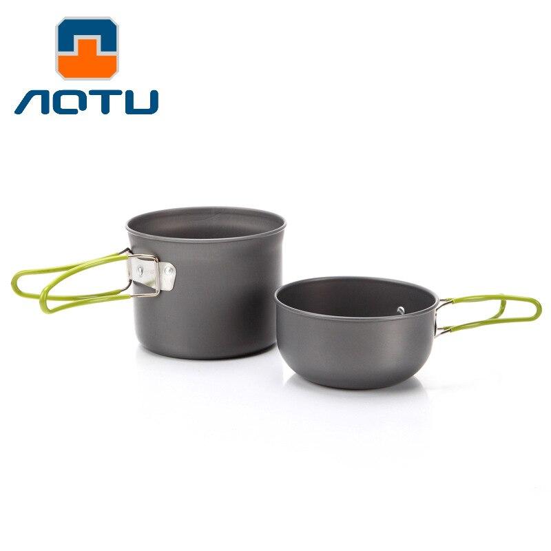 New Large Aluminum Pot Camping Stove Equipment Forlife Tea Pot Outdoor Camping Cookware Sets Single Nonstick Cookware Portable