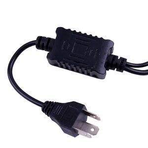 Image 3 - RXZ Nuovo H4 HA CONDOTTO il Mini Lente Del Proiettore H4 LED Kit di Conversione H4 Lampadina 9600LM Automobili Hi/Lo Fascio di LED lampadine del faro 12V 24V 5000K