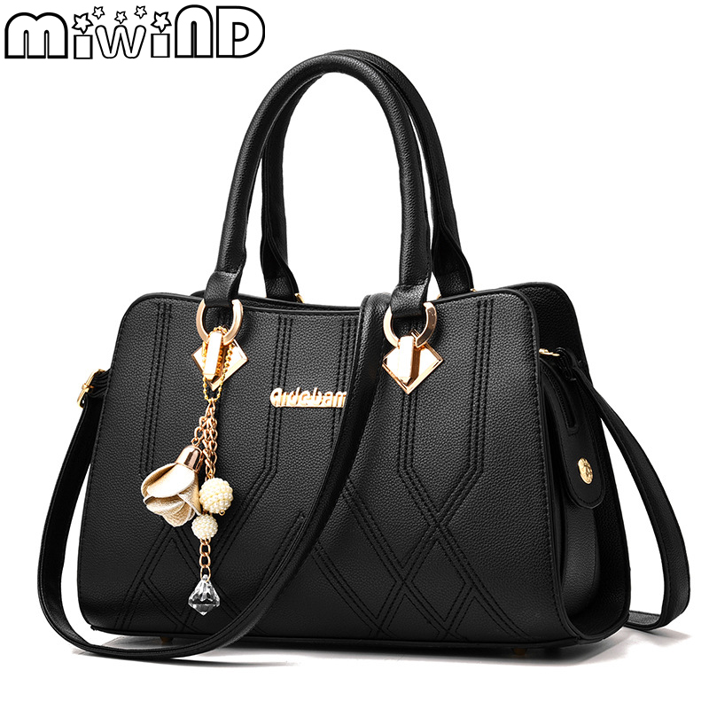 MIWIND для женщин сумка Новинка 2019 года Мужчин's сумки расширенный модельер Роскошные Дамы Crossbody на плечо PU Bolsa Feminina