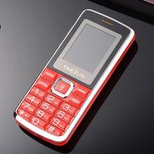 """1.77 """"экран двойной сим большой 3D звук мобильного телефона tkexun C1 телефон французский русский язык Русский Клавиатура"""