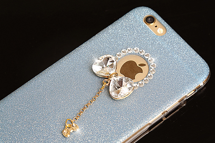 YESPURE Bling Gliter Lovely Bowknot Phone Case Cover Girl for Iphone - Ανταλλακτικά και αξεσουάρ κινητών τηλεφώνων - Φωτογραφία 6