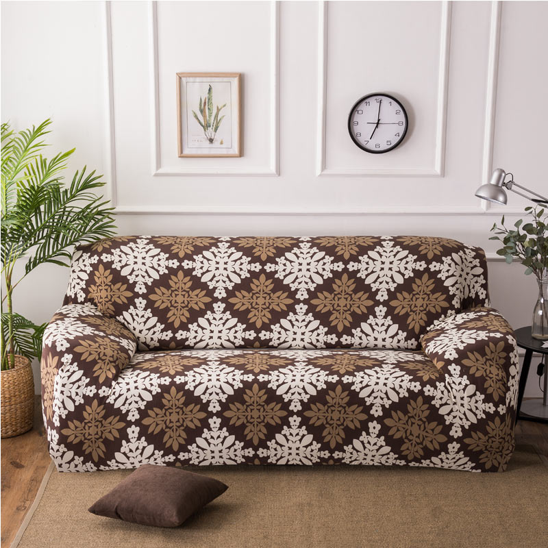 Geometric Printing Sofa Cover Stretch Elasticity All