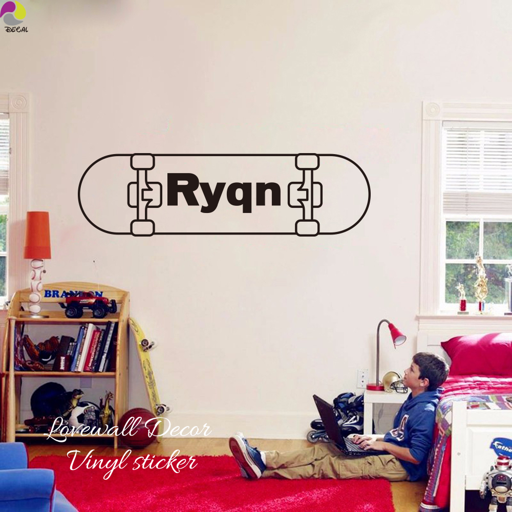Online Get Cheap Custom Skateboard Stickers Aliexpresscom - Custom cut vinyl wall decals