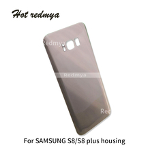 Get more info on the 10Pcs/lot S8 Battery Cover Rear Door Housing Case For Samsung Galaxy S8 G950 G950F Back Glass Replacement With Back Stioker