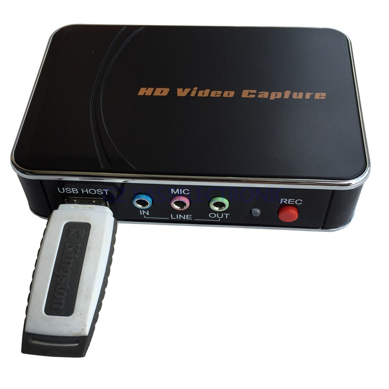 2017 new VHS to DVD converter convert 1080P HDMI YPbPr to U driver HDMI for xbox one game box ps3 Free shipping image